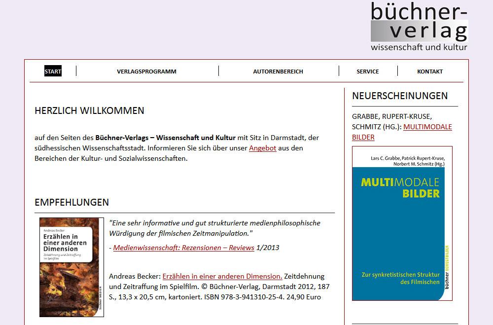 Startseite buechner-verlag.de