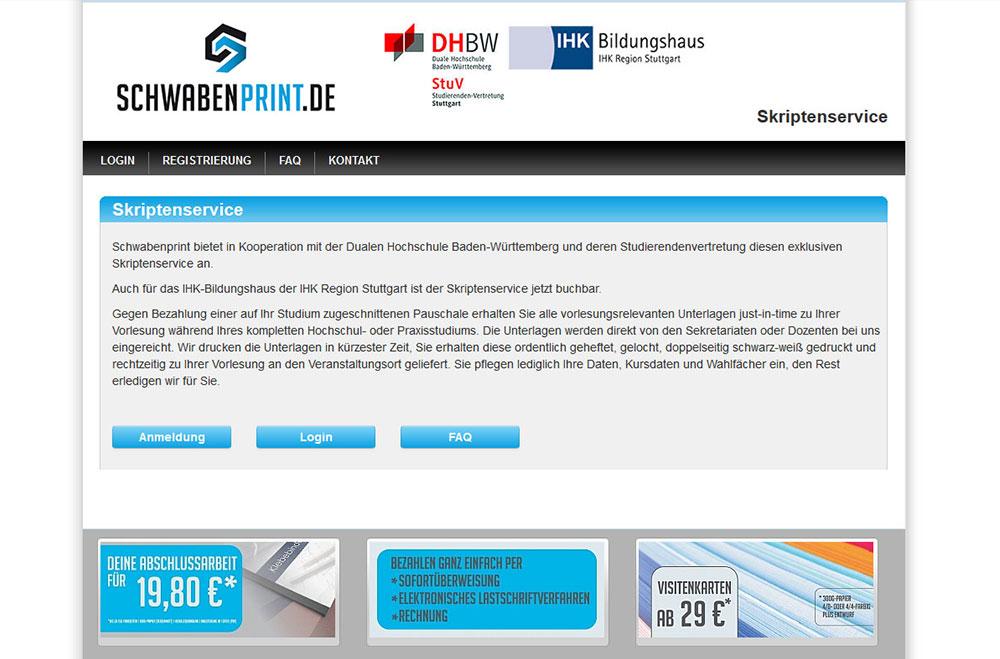 Startseite Schwabenprint Skriptenservice